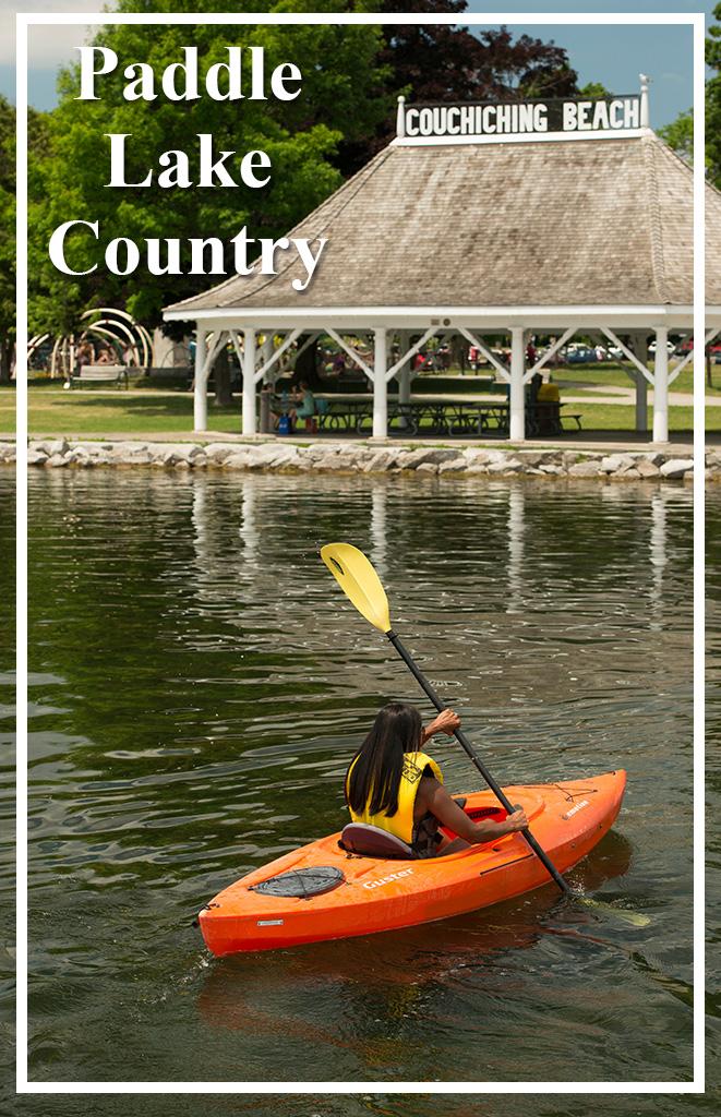 Paddle Lake Country