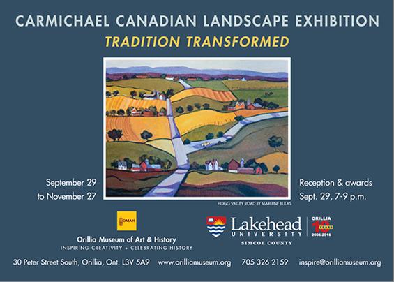 Carmichael - CARMICHAEL CANADIAN LANDSCAPE EXHIBITION