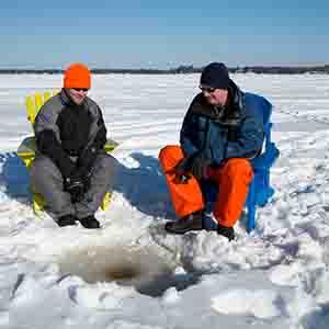 Ice Fishing - Outdoor Activities
