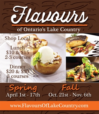 flavours ad ss - FLAVOURS OF ONTARIO'S LAKE COUNTRY