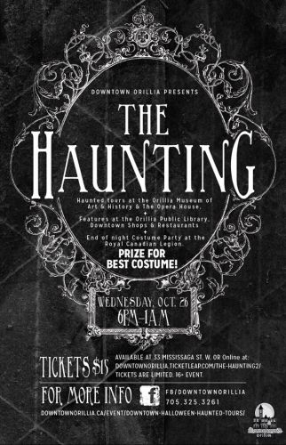 haunting poster - THE HAUNTING