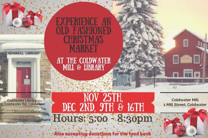 coldwater christmas market - COLDWATER CHRISTMAS MARKET
