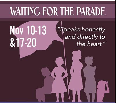 waiting for the parade - WAITING FOR THE PARADE