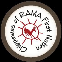 logo circle warm - CHIPPEWAS OF RAMA FIRST NATION POWWOW