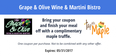 Grape & Olive Wine & Martini Bistro
