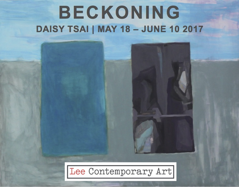 dasiy tsai invite front - Daisy Tsai: Beckoning @ Lee Contemporary Art