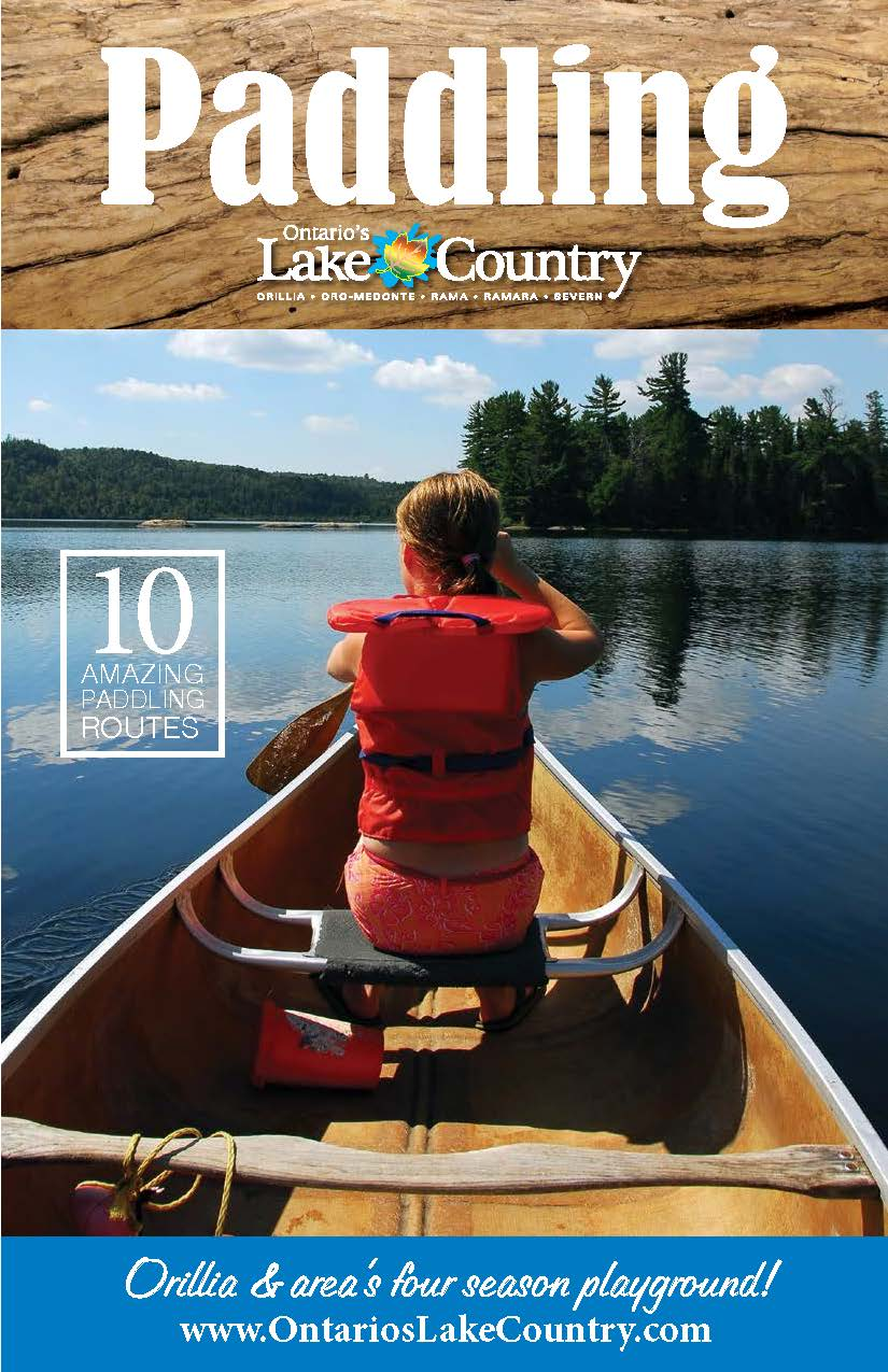 paddling guide cover - Paddle Lake Country
