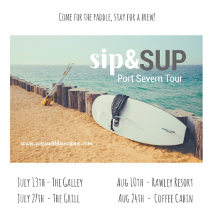 sipsup 300x300 - LAURA JANE: SIP & SUP