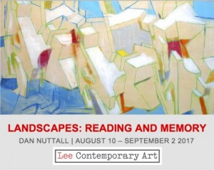 Dan Nuttall invite front e1501171603815 300x239 - READING AND MEMORY: AN EXHIBITION OF OF NEW PAINTINGS