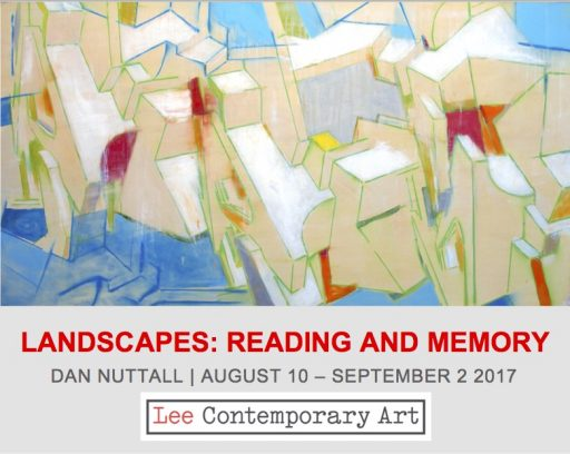 Dan Nuttall invite front e1501171603815 - READING AND MEMORY: AN EXHIBITION OF OF NEW PAINTINGS
