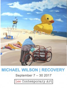 Michael Wilson Invite front 227x300 - MICHEAL WILSON: AN EXHIBITION OF NEW PAINTINGS