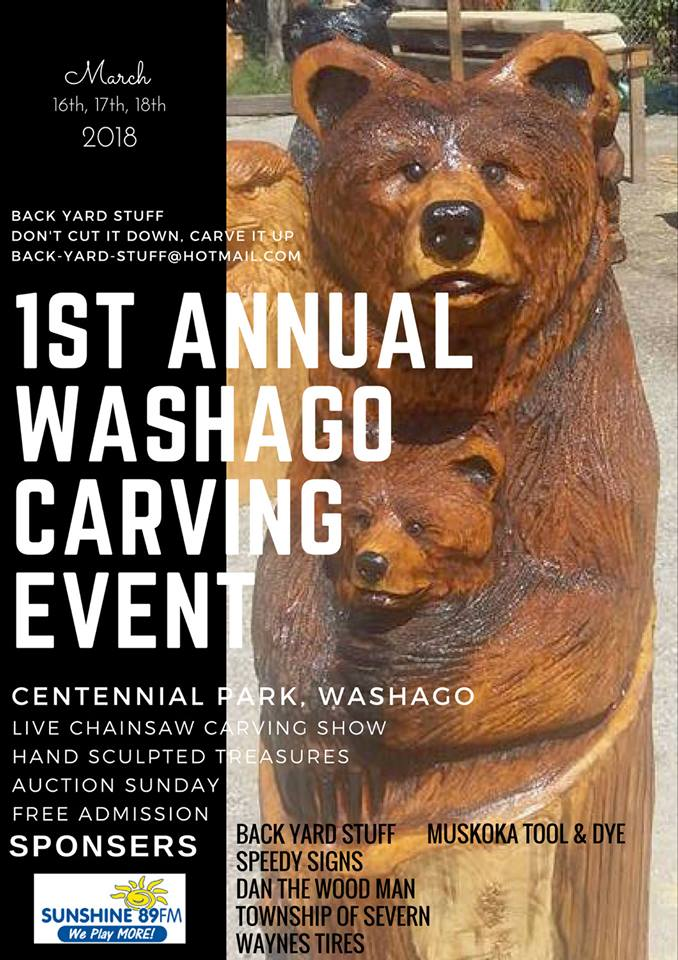 Edited Poster2 - 1st ANNUAL WASHAGO CARVING EVENT