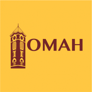 OMAH Logo 300x300 - SIDE BY EACH GOES GHOSTLY