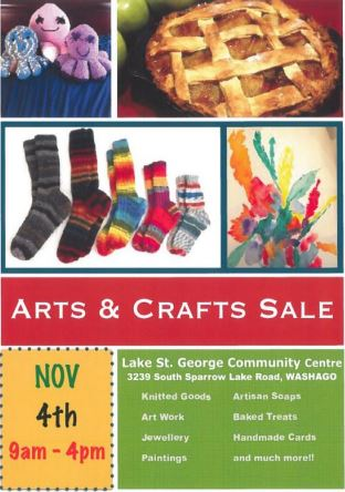 Arts and craft sale - ARTS & CRAFTS SALE