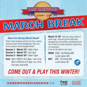 Hardwood March break 300x300 - MARCH BREAK AT CAMP HARDWOOD