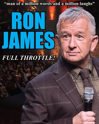 Tixhub Ron James - RON JAMES - FULL THROTTLE