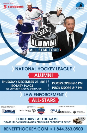 ORILLIA POSTER e1512415857586 - THE 2017 NHL ALUMNI BENEFIT TOUR