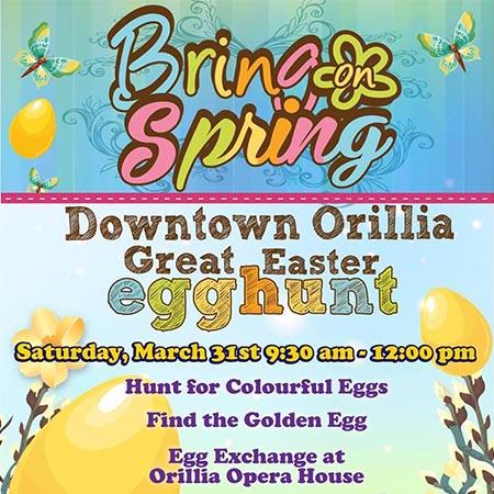 Easter Edd Hunt DT Orillia 450x450 - THE GREAT EASTER EGG HUNT
