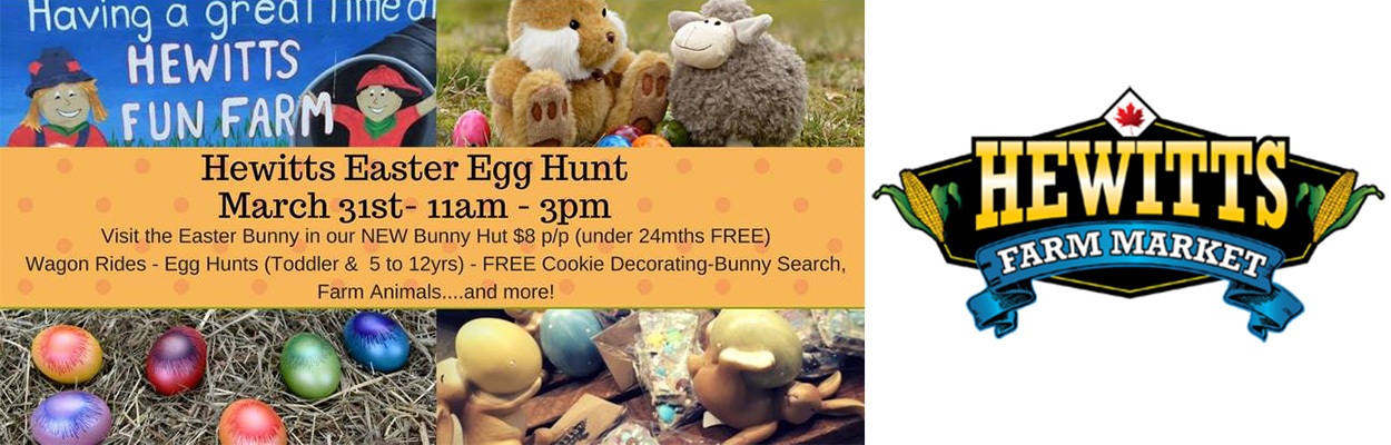 Easter Hewitts 1250x400 - Top 5 Hoppin' Things To Do This Easter Weekend in Ontario's Lake Country