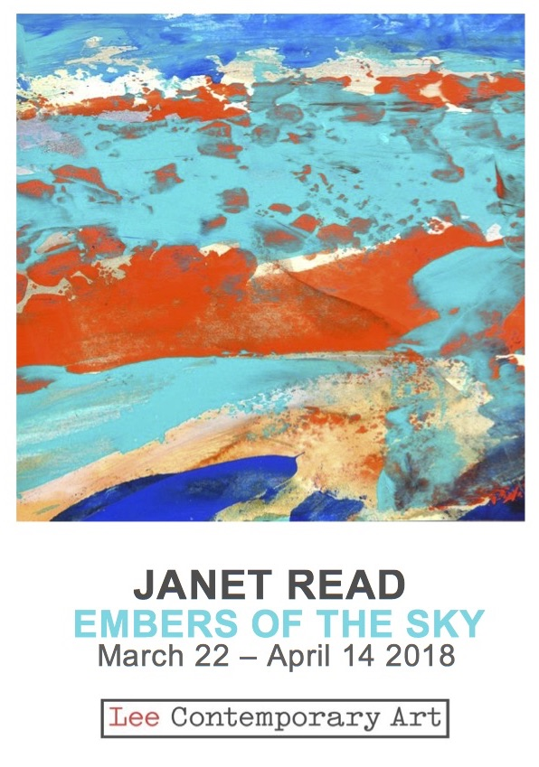 Janet Read Invite front - JANET READ: EMBERS OF THE SKY