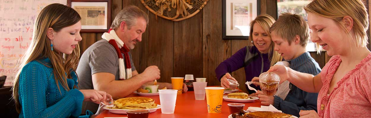 Pancake house 1250x400 - Maple Tours and Winter Fun in Ontario's Lake Country