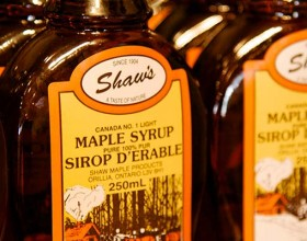 Shaws Maple Syrup 1250x400
