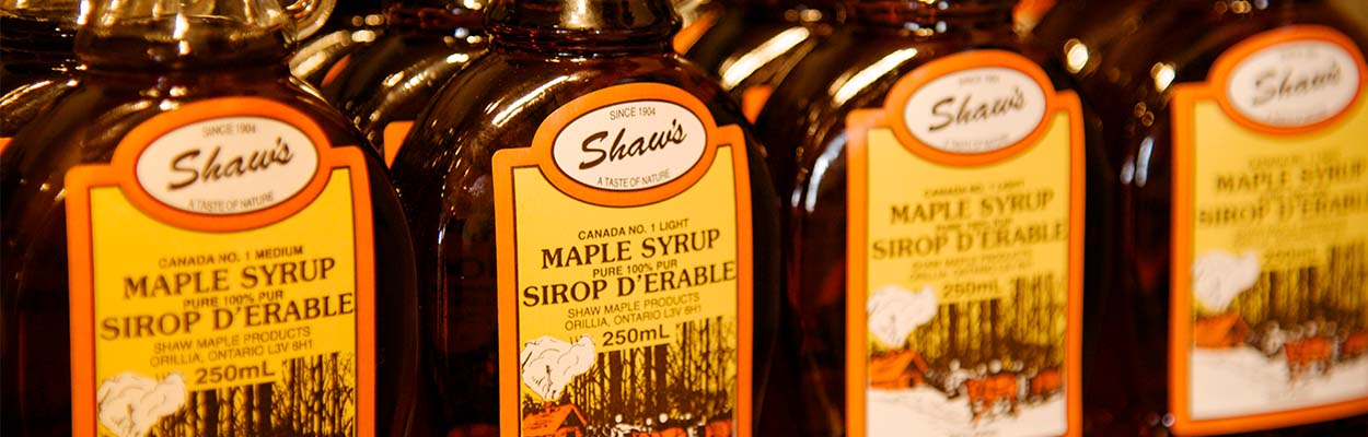 Shaws Maple Syrup 1250x400 - Maple Tours and Winter Fun in Ontario's Lake Country