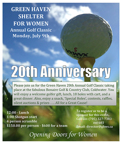 Golf Poster - Green Haven 19th Annual Golf Classic