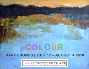Nancy Jones 2018 Invite front 300x234 - NANCY JONES: COLOUR. AN EXHIBITION OF NEW PAINTINGS
