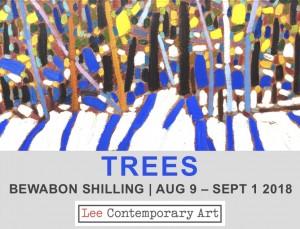 Bewabon Shilling 2018 Invite front 300x229 - BEWABON SHILLING: TREES