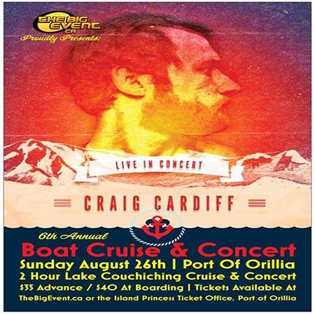 Craig Cardiff 450x450 - BOAT CRUISE & CONCERT