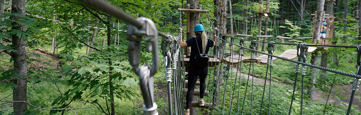 Treetop Trekking 1250x400 - Adventure Days In Ontario's Lake Country