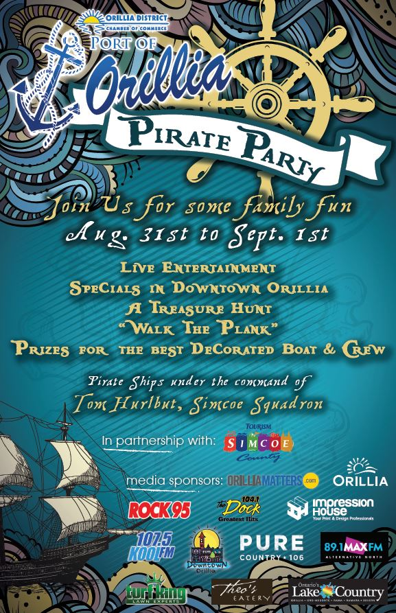 Pirateparty2019 - PORT OF ORILLIA PIRATE PARTY
