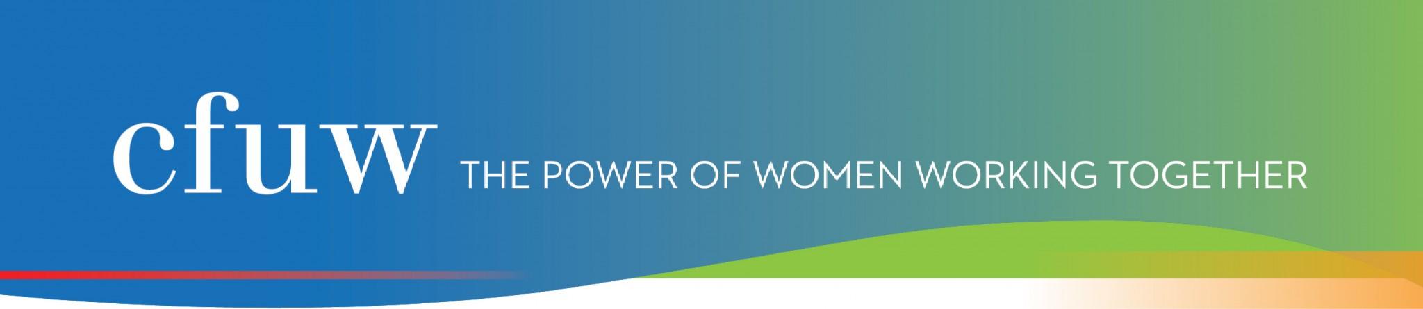 CFUW New Logo Banner - CANADIAN FEDERATION OF UNIVERSITY WOMEN (CFUW) ANUAL HOMES TOUR AND TEA