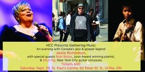GatheringMusic 300x150 - HCC PRESENTS JACKIE RICHARDSON