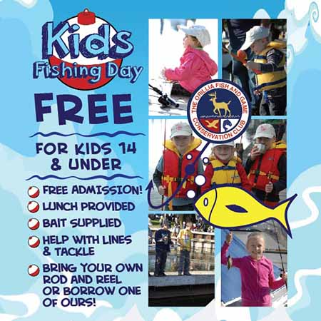 Kids Fishing Day - SEBASTIAN MANISCALCO