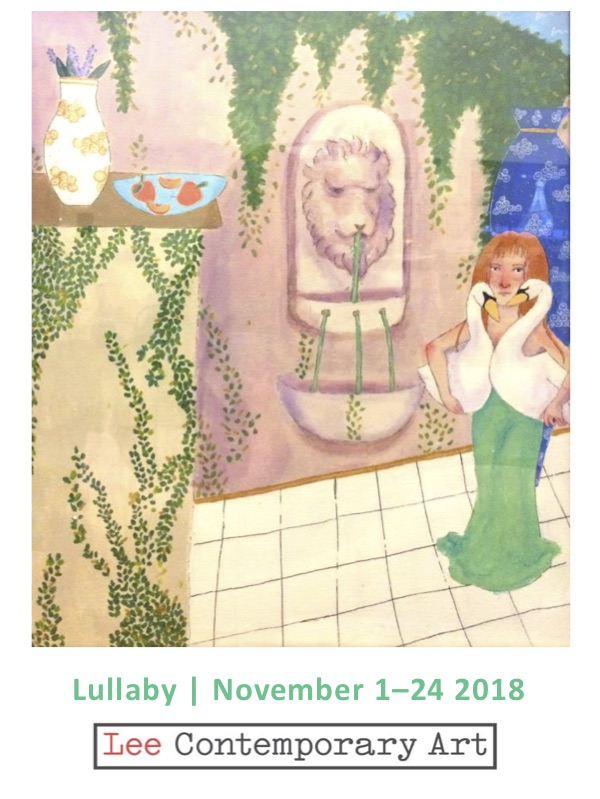 Lullaby Invite front - LULLABY: A CURATED GROUP EXHIBITION