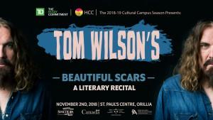 TW facebook event 300x169 - Tom Wilson's Beautiful Scars - A Literary Recital