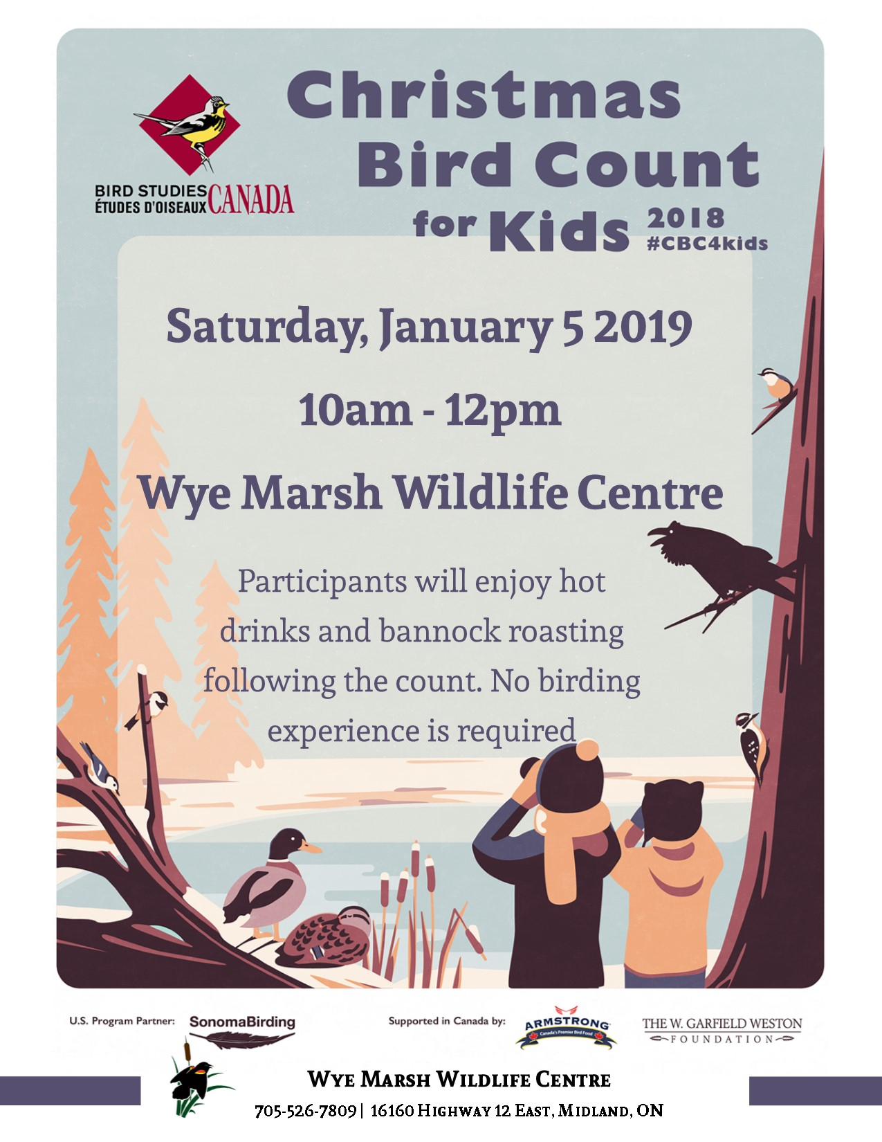 CBC 4 Kids  - CHRISTMAS BIRD COUNT FOR KIDS