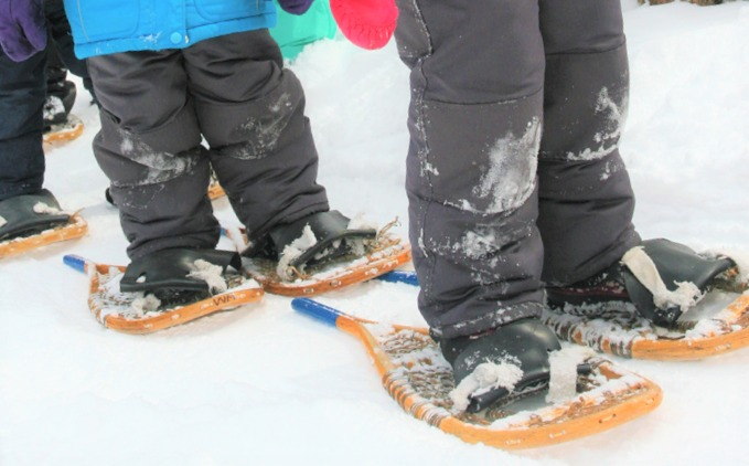 Kids Snowshoes - WINTER BREAK DAY CAMP