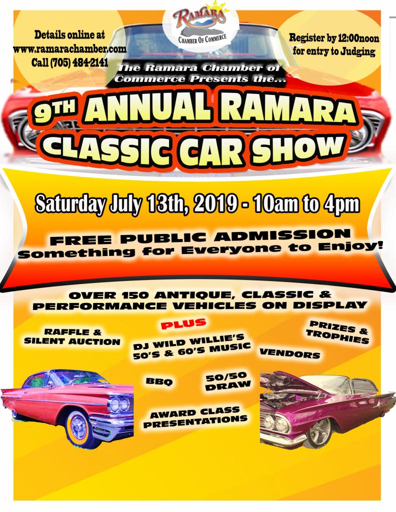 2019 Car Show Poster 2018 792x1024 - PUB PAINT PARTY