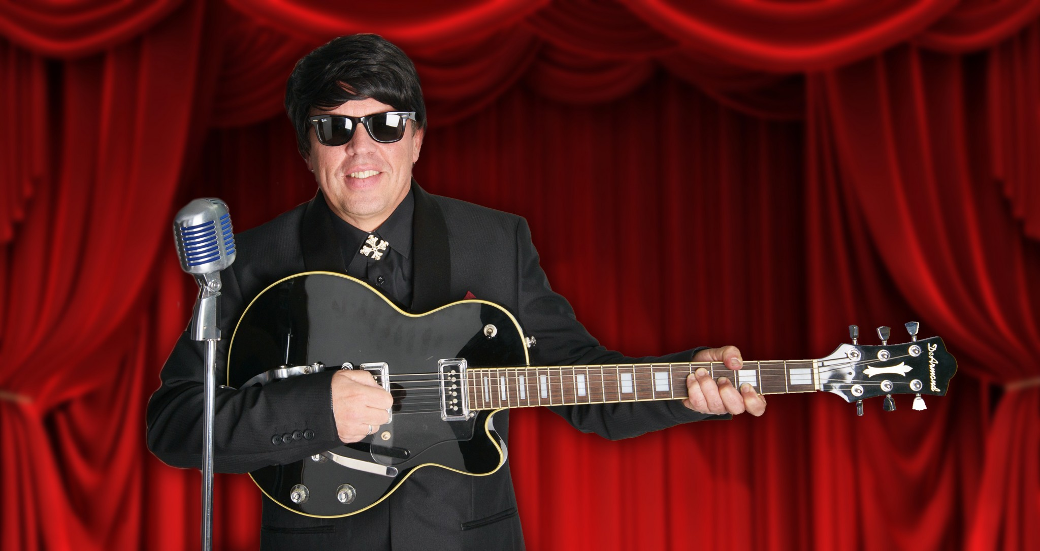 Orbison Horizontal Curtains - ROY ORBISON - ALL STAR TRIBUTE