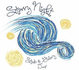 Starry Night logo high res 300x268 - STARRY NIGHT & GALLERY TOUR
