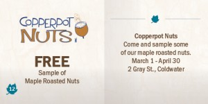 Copperpot Nuts Coupon