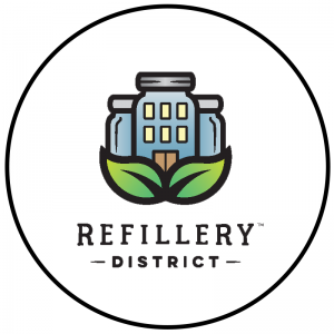 Refillery logo 300x300 - Tap into Maple - Route Stops