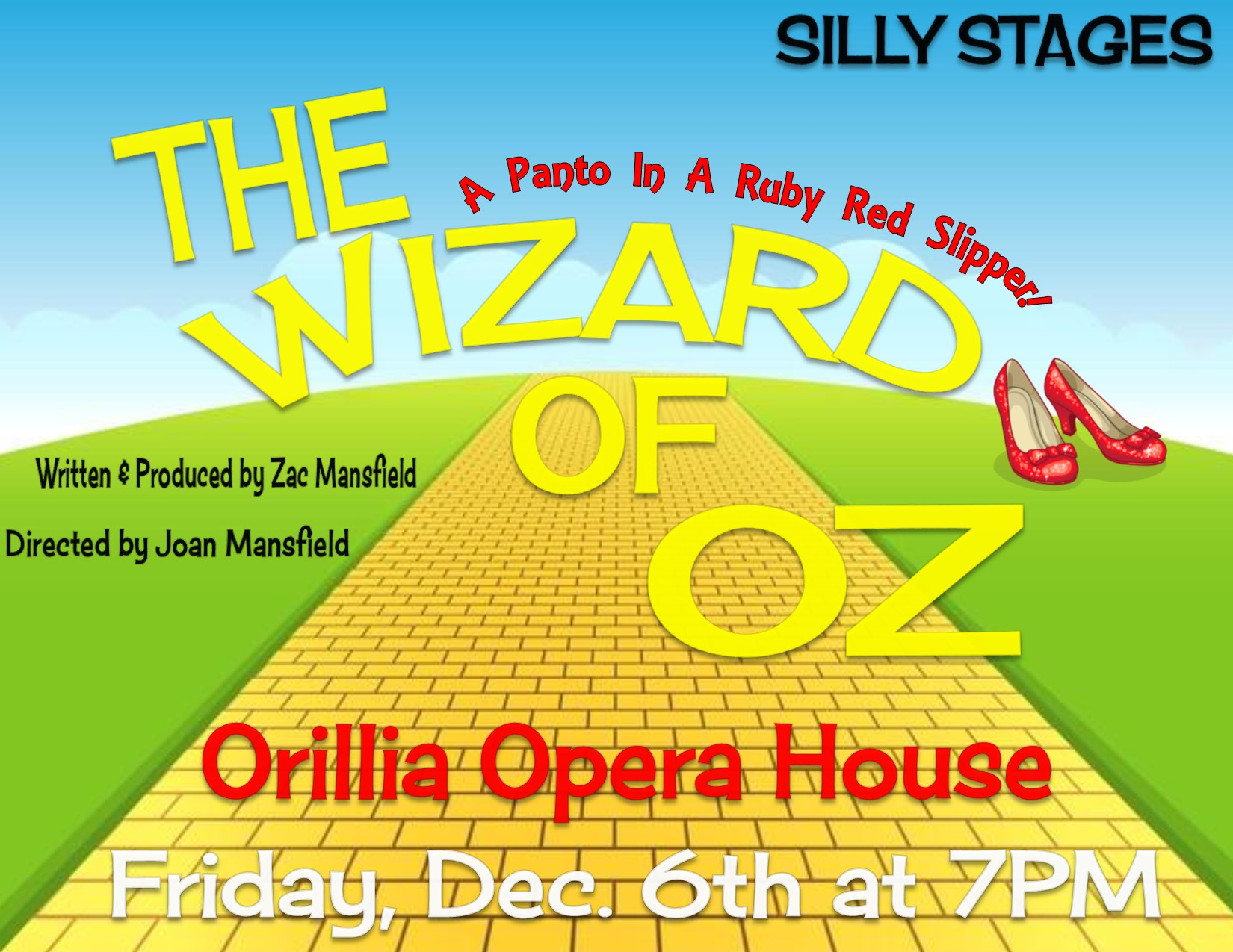 Wizard Of Oz jpeg - WIZARD OF OZ-PANTO IN A RUBY RED SLIPPER