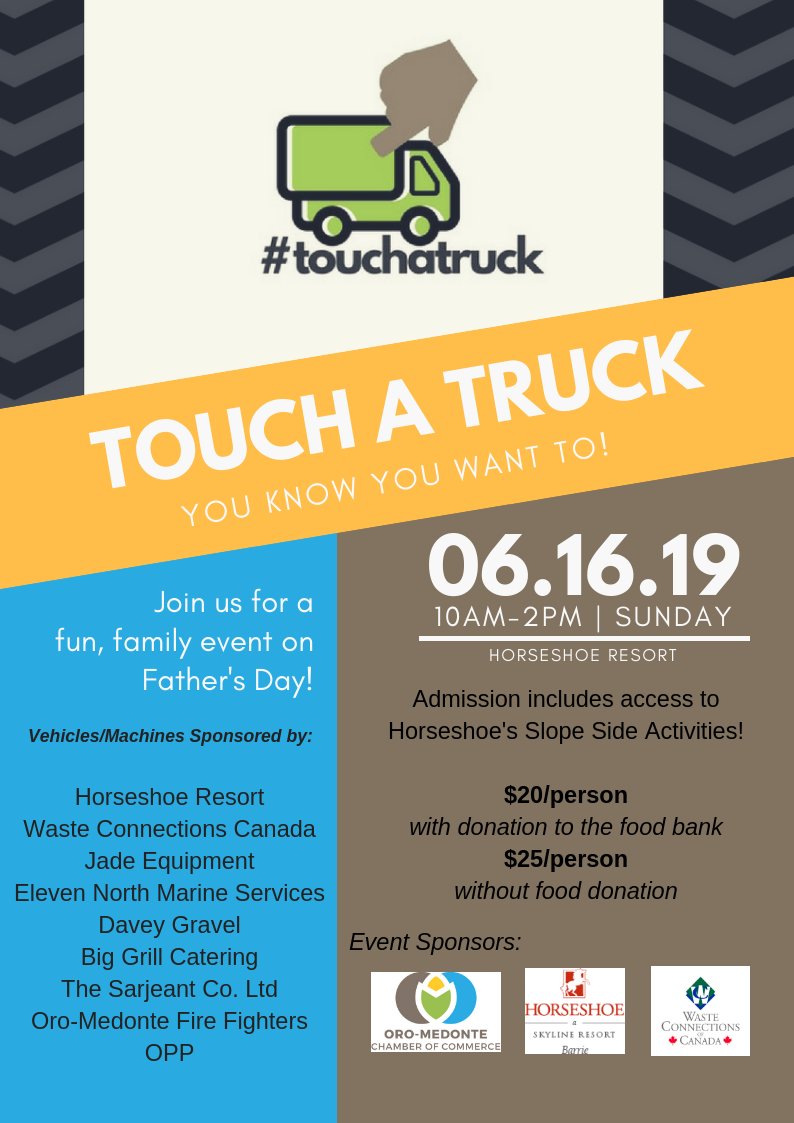 Touch a Truck full flyer - TOUCH A TRUCK FOR FATHER'S DAY