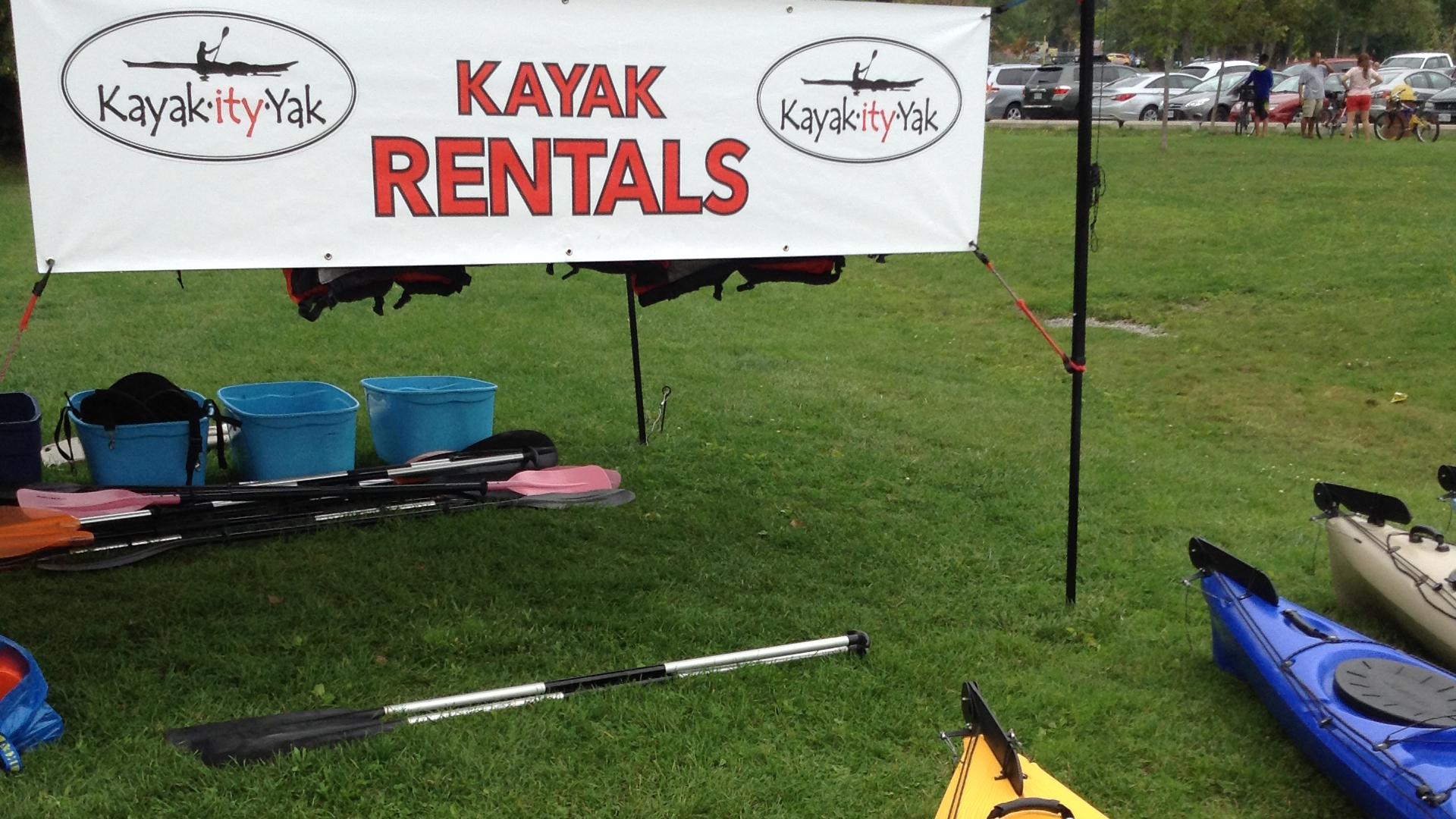 Kayak - Get Ready for National Paddling Week
