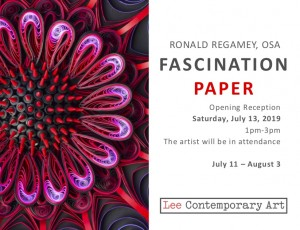 Ronlad Regamey Invite front 300x230 - RONALD REGAMEY: FASCINATION PAPER
