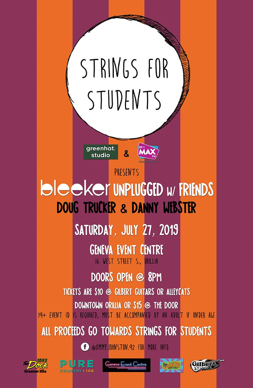 Strings for Students - BLEEKER UNPLUGGED W/ FRIENDS